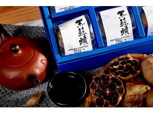 崢峰黑蒜頭禮盒/黑蒜/年長/黑蒜頭(9粒/盒)